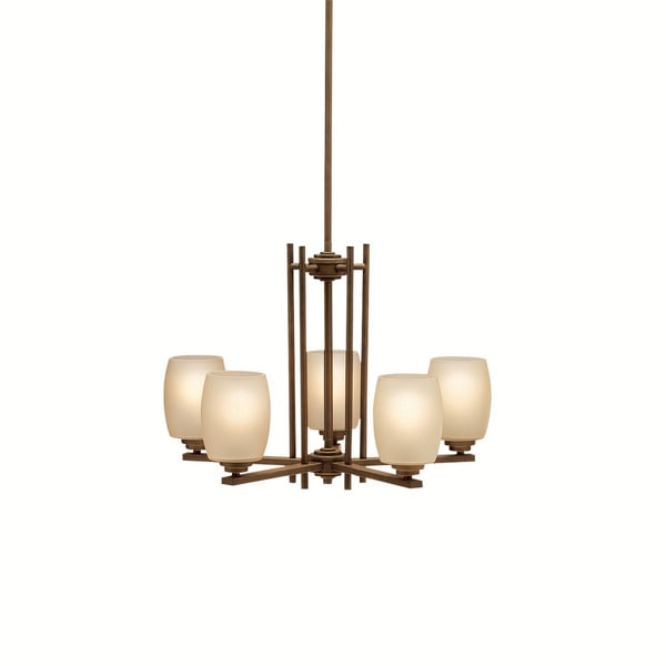 Kichler Lighting Eileen Collection 5-light Olde Bronze Chandelier