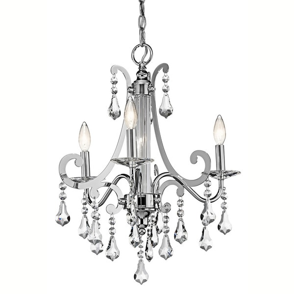 Kichler Lighting Leanora Collection 3-light Chrome Chandelier
