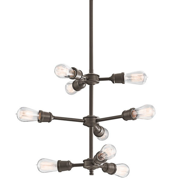 Kichler Lighting Lucien Collection 9-light Olde Bronze Chandelier