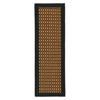 "Handcrafted Seaside Sisal Carpet Stair Treads 9"" x 29"" (Set of 13)"