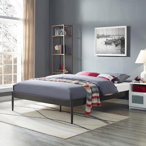 Elsie Brown Stainless Steel Bed Frame