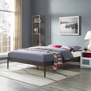 Elsie Brown Stainless Steel Bed Frame