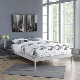 Elsie Stainless Steel Bed Frame in Gray