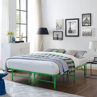 Horizon Stainless Steel Bed Frame in Green