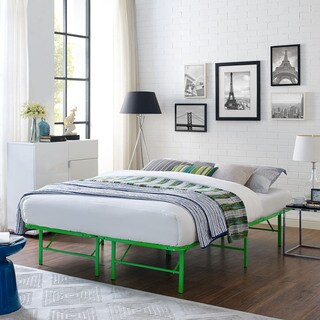 Horizon Stainless Steel Bed Frame in Green (2 options available)