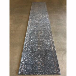 "Mandara Hand-Tufted Contemporary Abstract Pattern Rug (4'x19'5"")"
