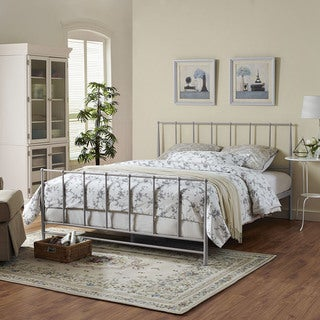 Nostalgic Cottage Grey Steel Estate Bed