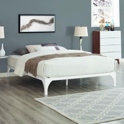 Ollie Bed Frame in White