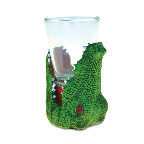 Puzzled Animal-theme Alligator Cool Animal Head Shot Glass