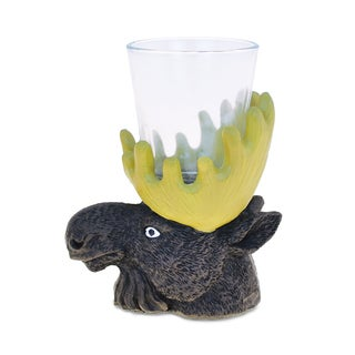 Moose Moose Cool Animal Animal Theme Head Shot Glass