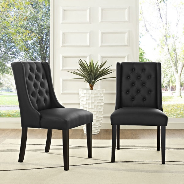 Baronet Vinyl Dining Chair Free Shipping Today Overstock 20291167