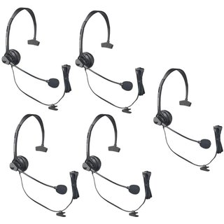 Panasonic KX-TCA60 Hands-Free Headset w/ Comfort Fit Headband (5 Pack)