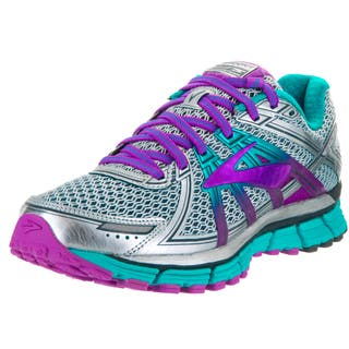 Brooks Women's Adrenaline GTS 17 Silver Running Shoes|https://ak1.ostkcdn.com/images/products/13620265/P20291280.jpg?impolicy=medium