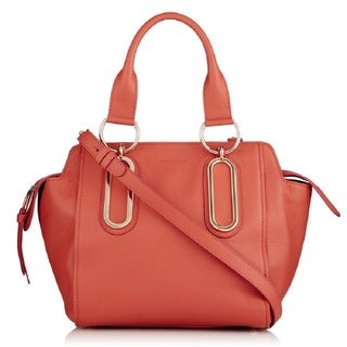 See by Chloe Paige Orange Leather Handbag