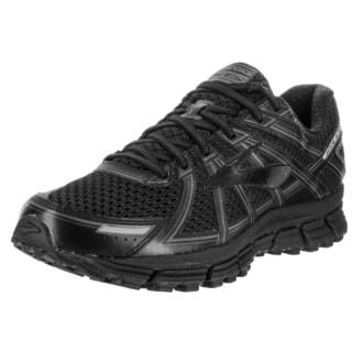 Brooks Men's Adrenaline GTS 17 Black Synthetic Mesh Running Shoe