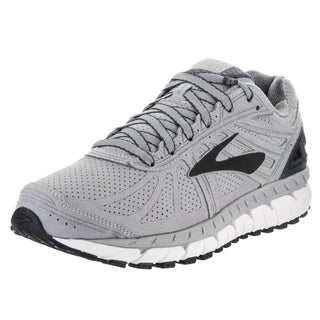 Brooks Men's Beast '16 LE Silver Suede Running Shoes