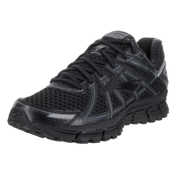 739a715ab7ad2 Shop Brooks Women s Adrenaline GTS 17 Black Mesh Running Shoe - Free ...