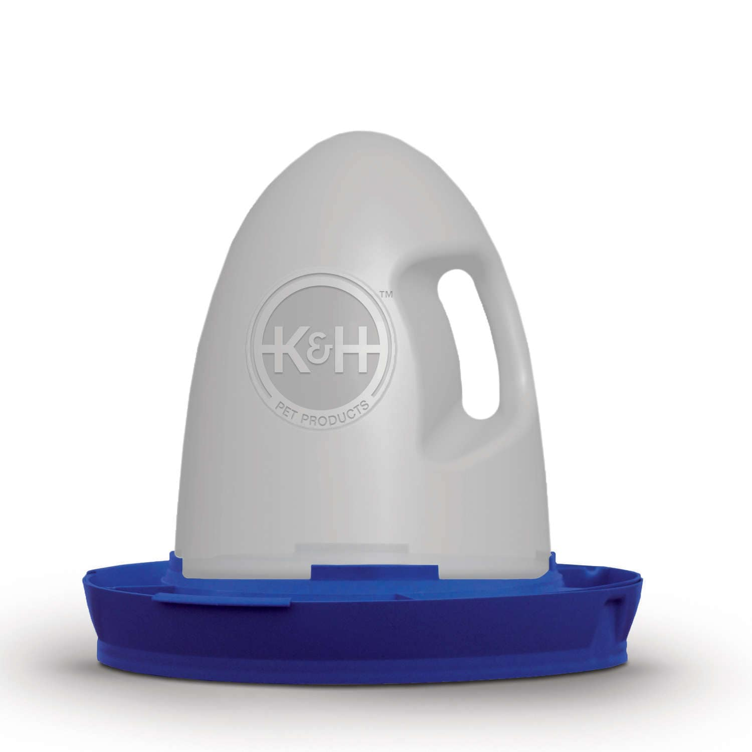 K&H Manufacturing Poultry Waterer 2.5 Gallons (Heated, Grey)
