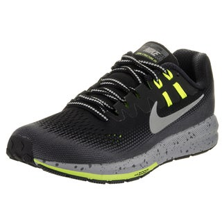 Nike Women's Air Zoom Structure 20 Shield Black Synthetic Leather Running Shoe