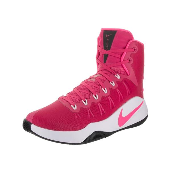 size 40 f7f7f a5eb7 Nike Men  x27 s Hyperdunk 2016 Pink Textile Basketball Shoes