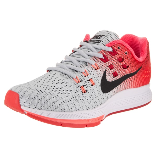 buy online 8f33a 95423 Nike Women  x27 s Air Zoom Structure 19 Grey Running Shoe