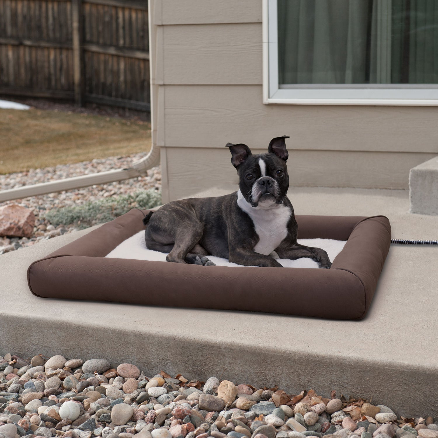 K&H Manufacturing Deluxe Lectro-Soft Outdoor Heated Dog B...
