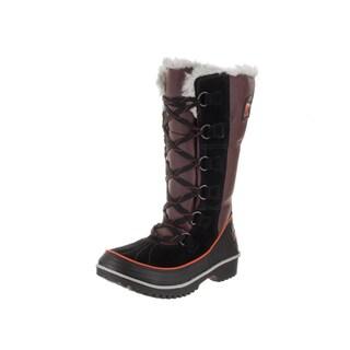 Sorel Women's Tivoli High II Red Canvas Boots