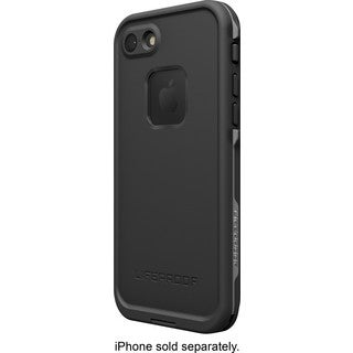 LifeProof - Fr Protective Waterproof Case for Apple iPhone 7 - Asphalt black