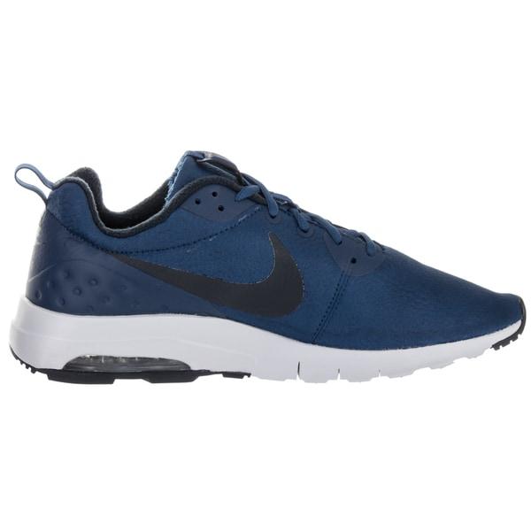 Shop Nike Men's Air Max Motion LW Prem Blue Synthetic