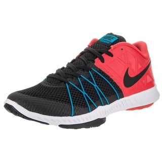 Nike Men's Zoom Black Synthetic Mesh Training Shoe