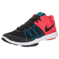 Nike Men's Zoom Black Synthetic Mesh Training Shoe