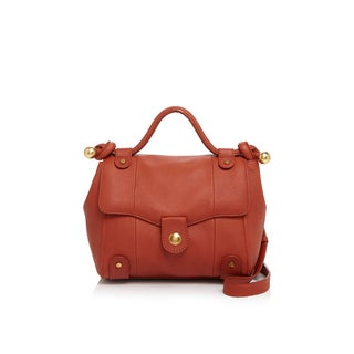 See by Chloe Dixie Rust Leather Crossbody Handbag