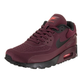 Nike Men's 'Air Max 90 Ultra SE' Night Mardon and Black Synthetic Leather Running Shoes