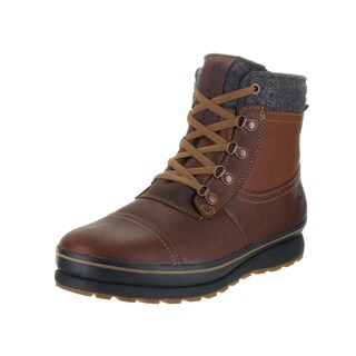 Timberland Men's Schazzberg Brown Leather Mid Boots