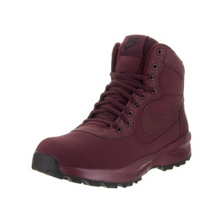 Nike Men's Red Nubuck Manoadome Boot