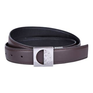 Versace Collection Brown Leather Belt