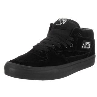 Vans Unisex Half Cab Black Suede Skate Shoes