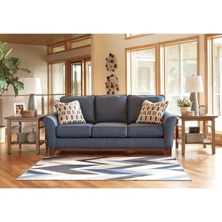 Signature Design by Ashley Janley Denim Sofa