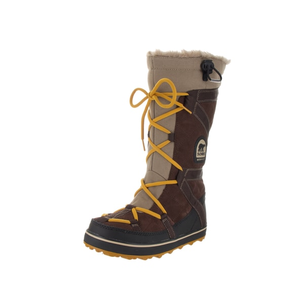 6aa3d8dd6be Shop Sorel Women s Glacy Explorer Brown Suede Boots - Free Shipping ...