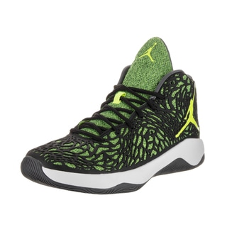 Nike Jordan Men's Jordan Ultra.Fly Black Synthetic Leather Basketball Shoes