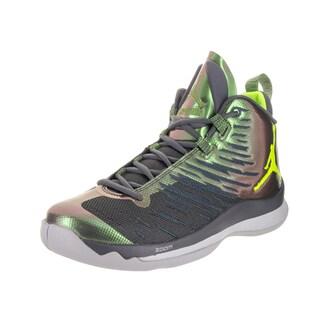 Nike Jordan Men's Jordan Super.Fly 5 Grey Basketball Shoe