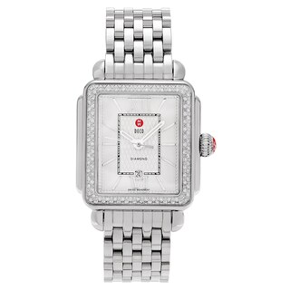 Michele Women's MWW06T000055 'Signature Deco' 3/5 CT TDW Diamond Link Watch