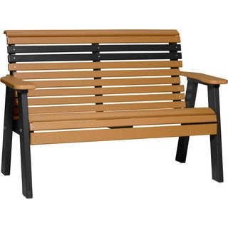Poly 4 ft. Rollback Bench