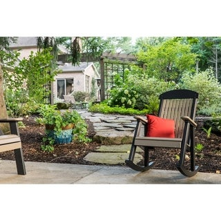 Link to Outdoor Porch Rocking Chair - Recycled Plastic Similar Items in Outdoor Sofas, Chairs & Sectionals