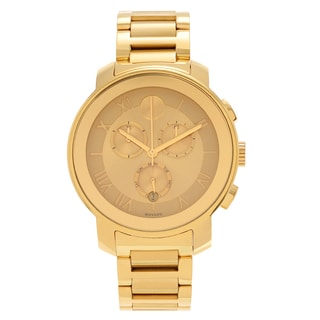 Movado Women's Slightly Blemished Goldplated 'Bold' 3600209 Chronograph Bracelet Watch