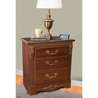 Sandberg Furniture Raphael 2-Drawer Nightstand with USB