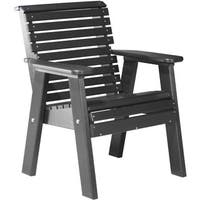 Poly 2 ft. Rollback Chair