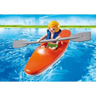 PLAYMOBIL PM6674 6674 Kid with Kayak Playset