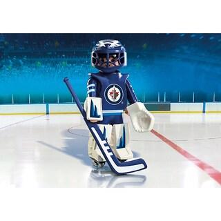 Playmobil NHL Winnipeg Jets Goalie Figure