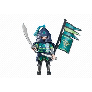 PLAYMOBIL PM6327 Green Sumurai Knights Leader Figure
